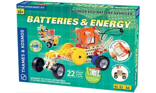 Batteries & Energy Experiment Kit