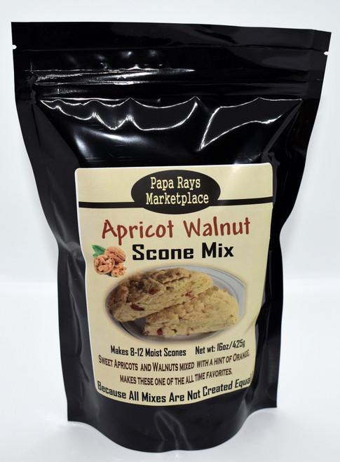 Apricot Walnut Scone Mix