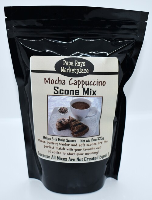 Cappuccino Scone Mix
