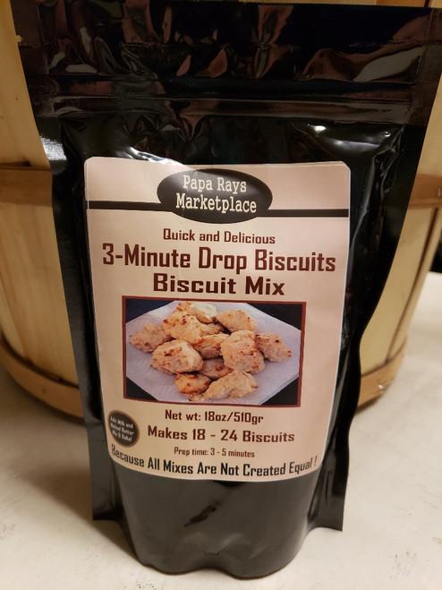 3-Minute Drop Biscuits