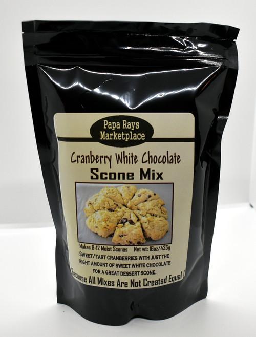 Cranberry White Chocolate Scone Mix