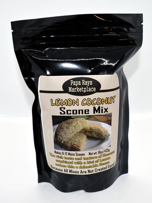 Lemon Coconut Scone Mix