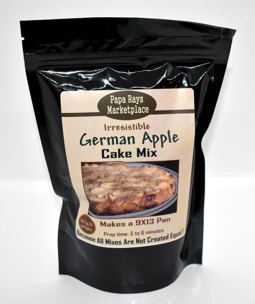 German Apple  Cake Mix
