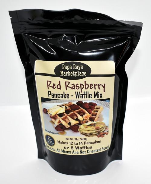 Raspberry Pancake / Waffle Mix