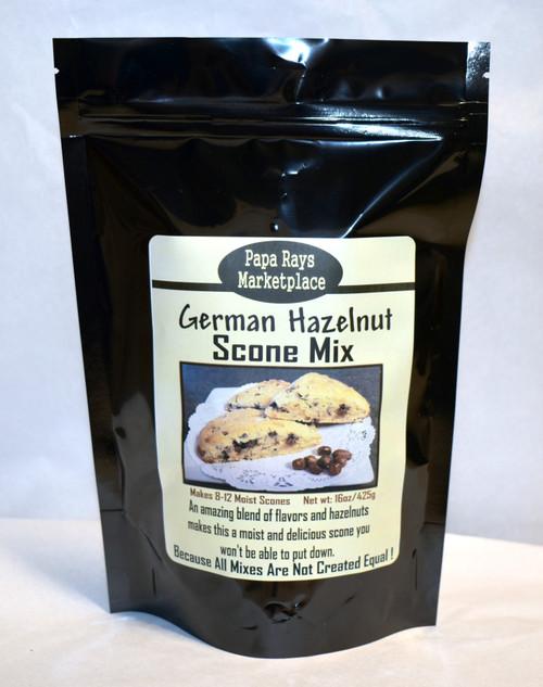 German Hazelnut Scone Mix
