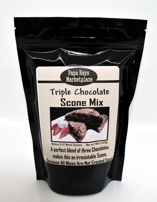 Triple Chocolate Scone Mix