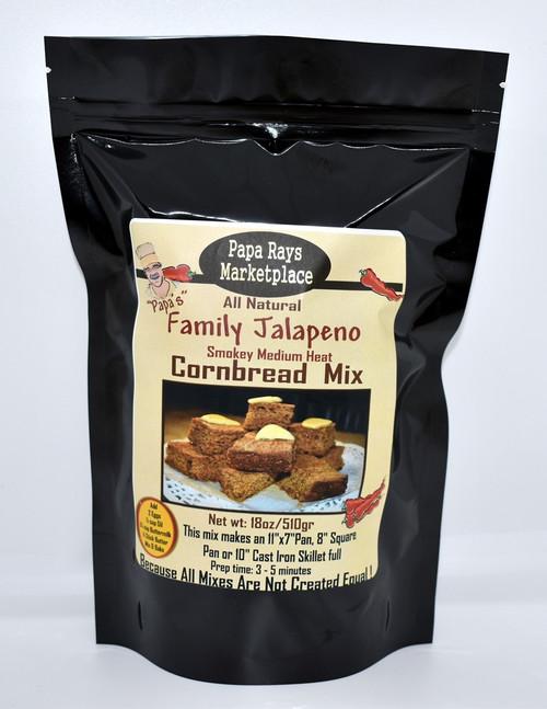Papa's Jalapeno Family Cornbread