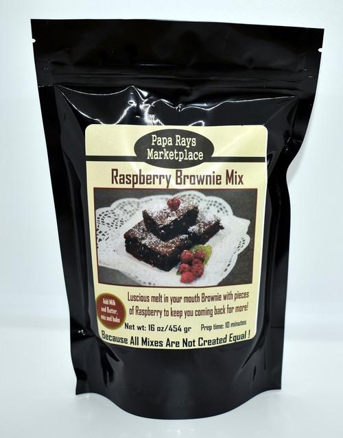 Raspberry Brownie Mix