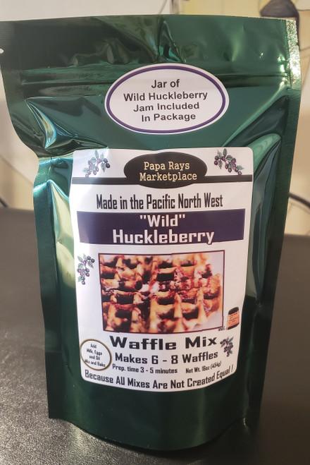 Huckleberry Waffle Mix