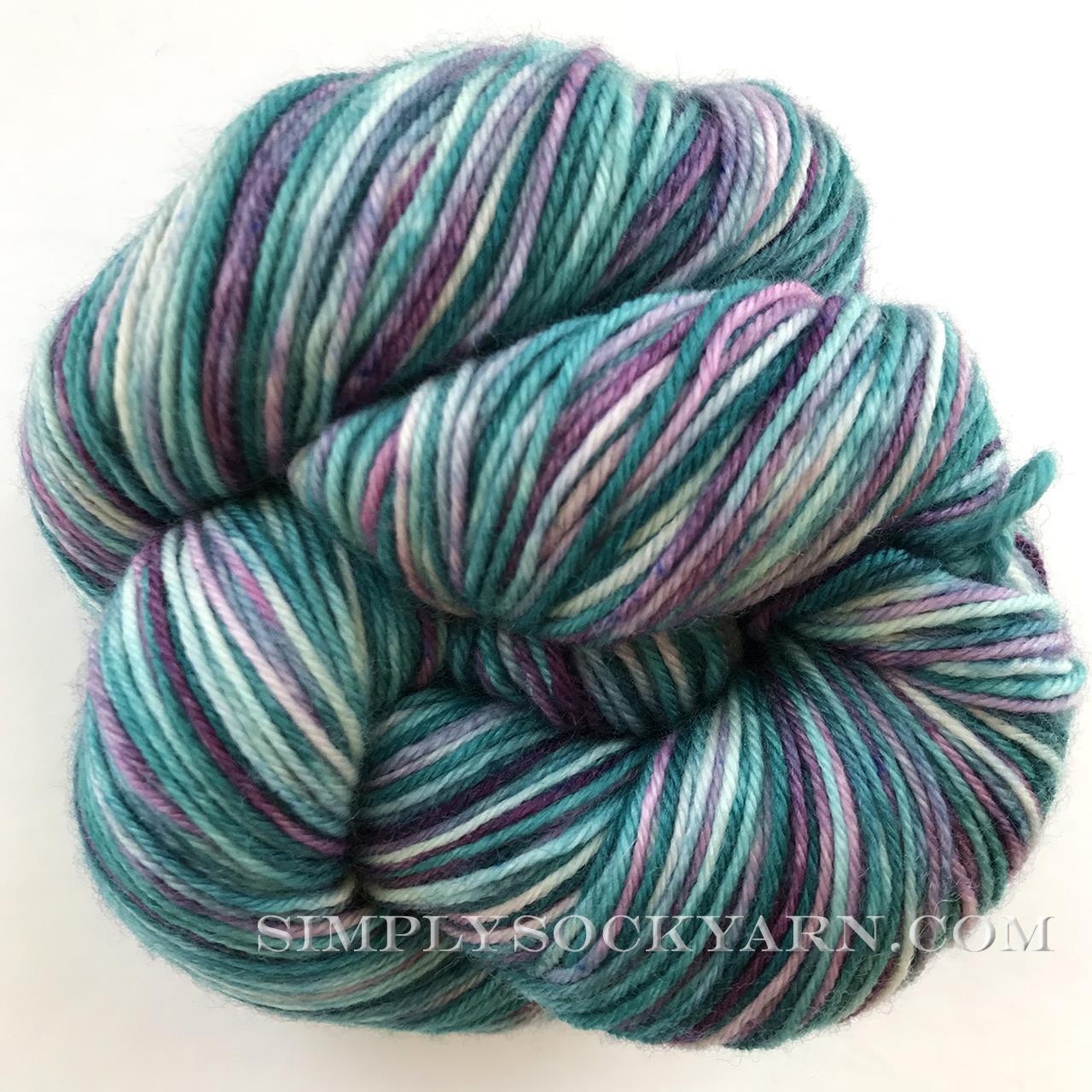 WW Aerten Sock Wood Violets -