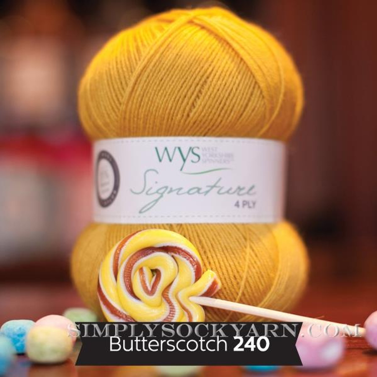 WYS Solid 240 Butterscotch -