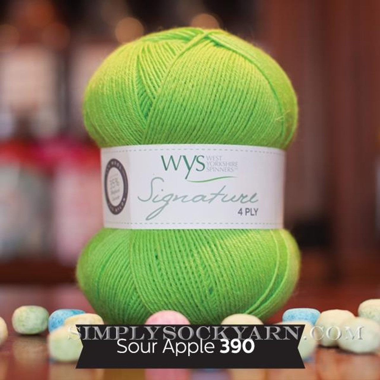 WYS Solid 390 Sour Apple -