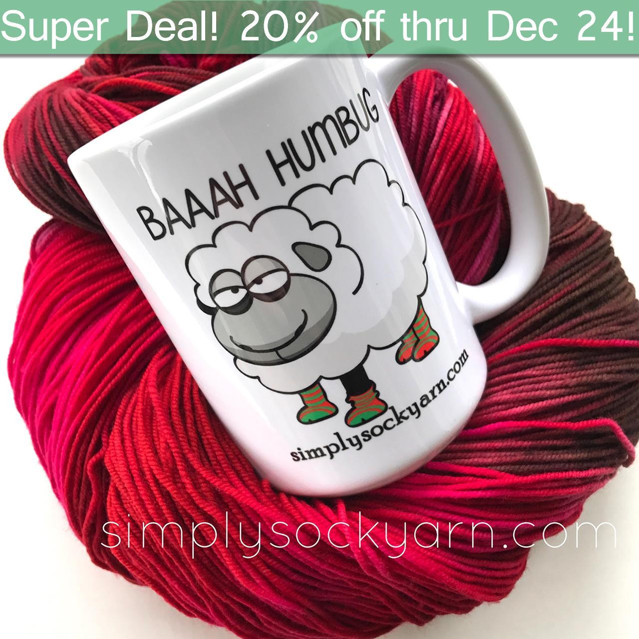 SSYC Mug Baaah Humbug -