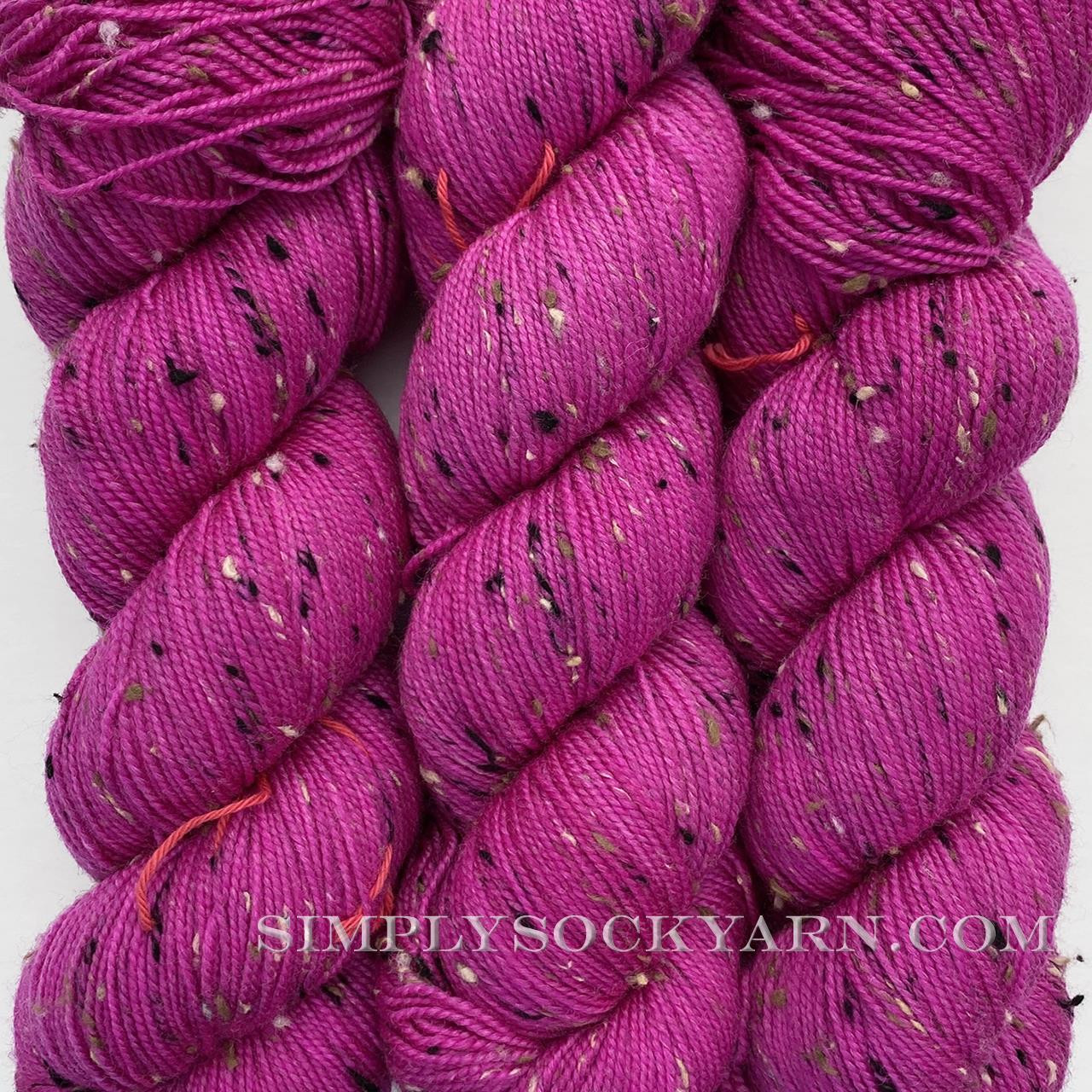 HLoco Tweed Fuchsia -