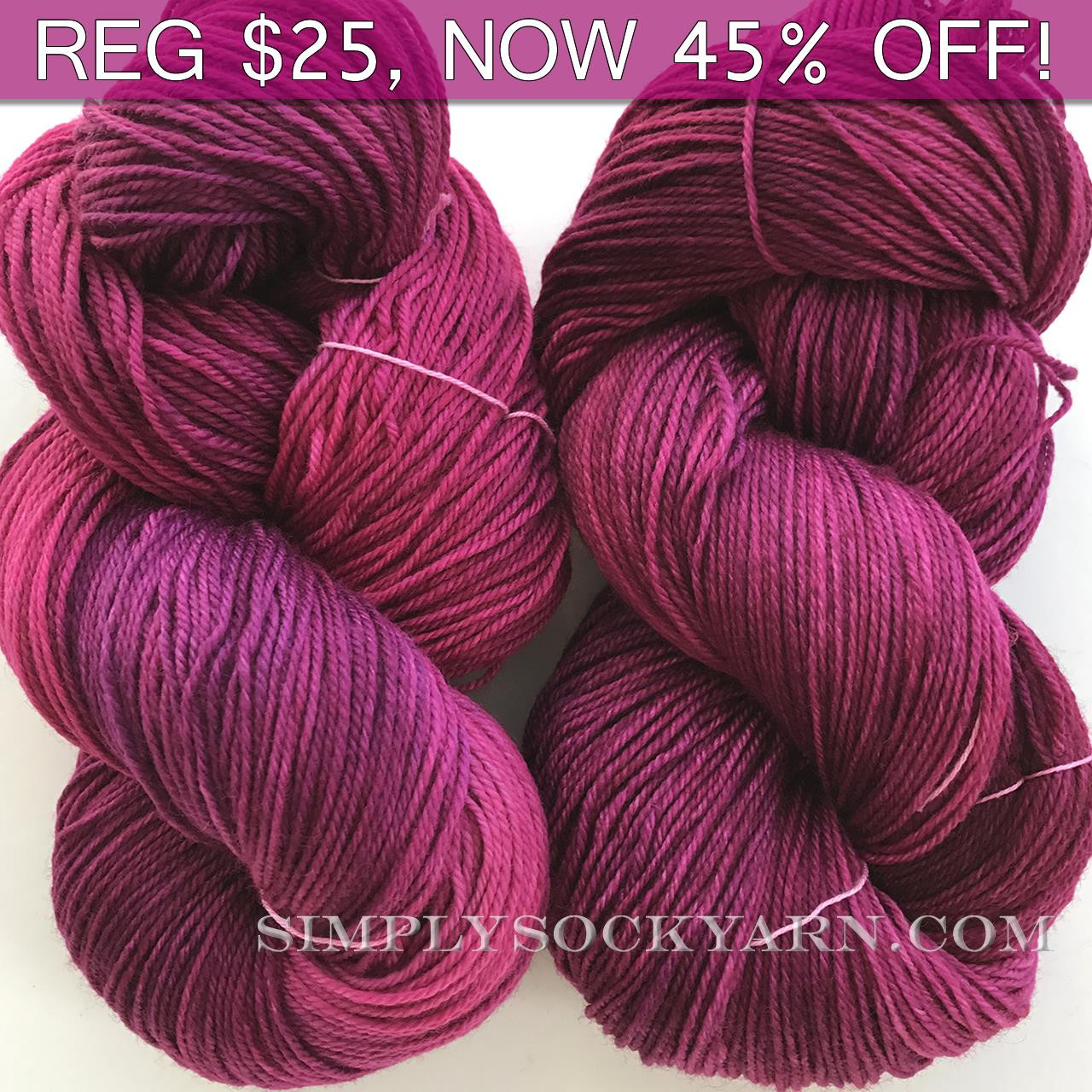 MWP Sock 120g Radiant Orchid -