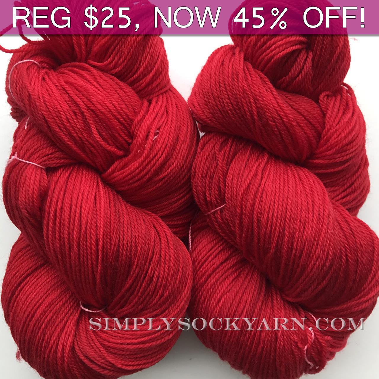 MWP Sock 120g Ruby -