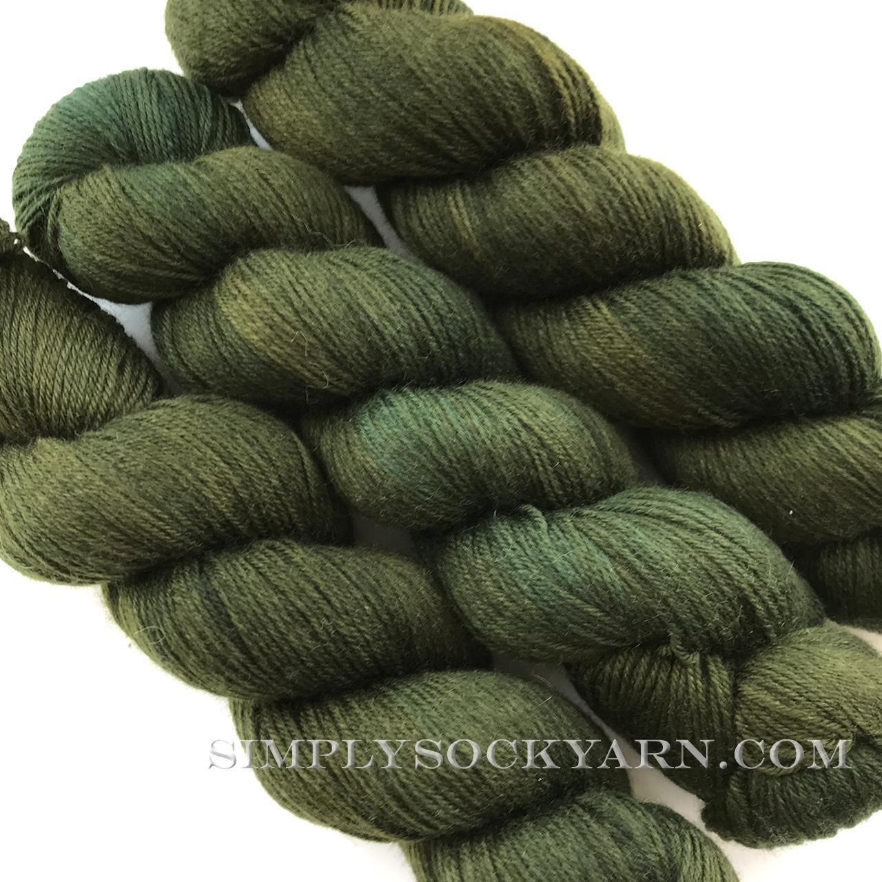 Qing Super Soft Sock Dk Forest -
