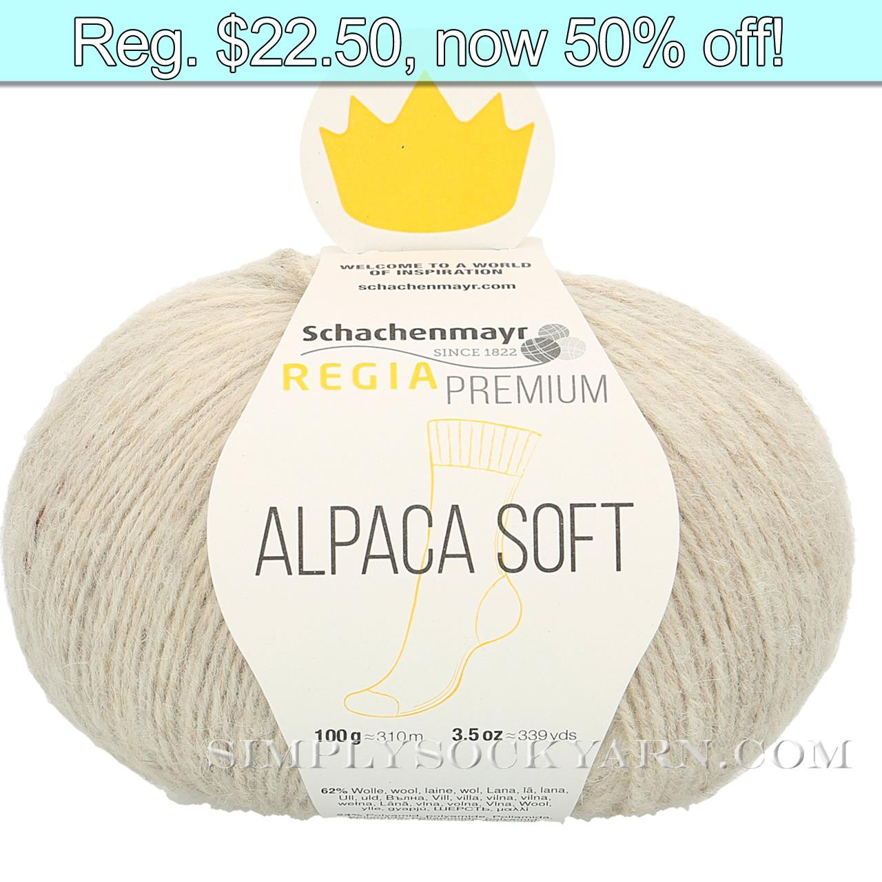 Regia Alpaca Soft 02 Natural -