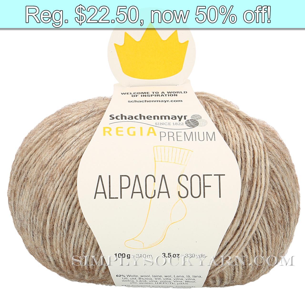Regia Alpaca Soft 20 Camel -