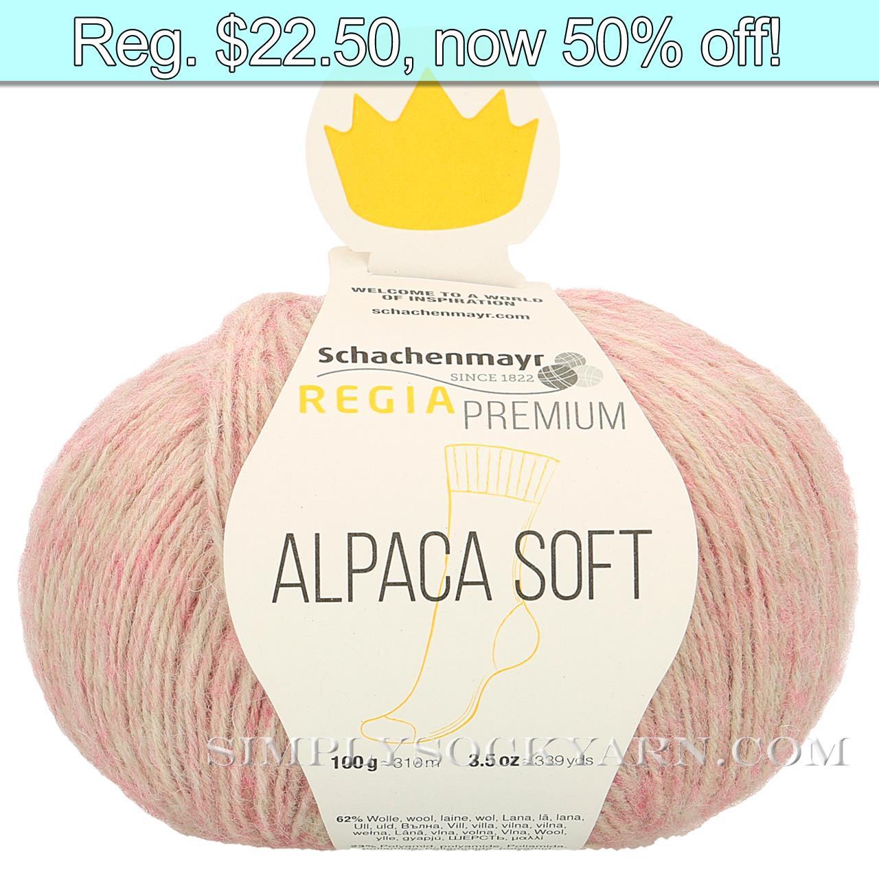 Regia Alpaca Soft 30 Rose -