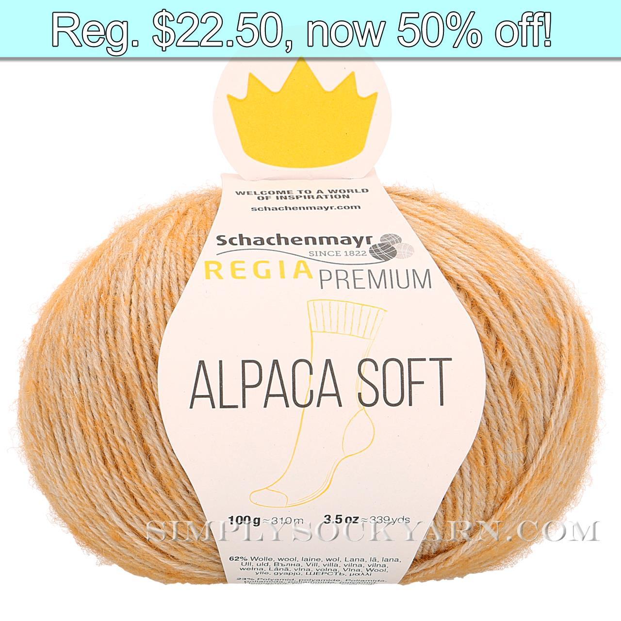 Regia Alpaca Soft 40 Gold -