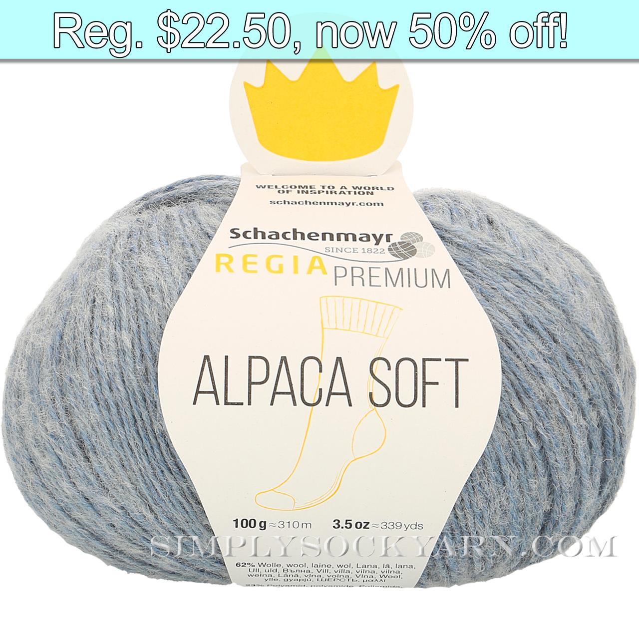 Regia Alpaca Soft 50 Light Blue -