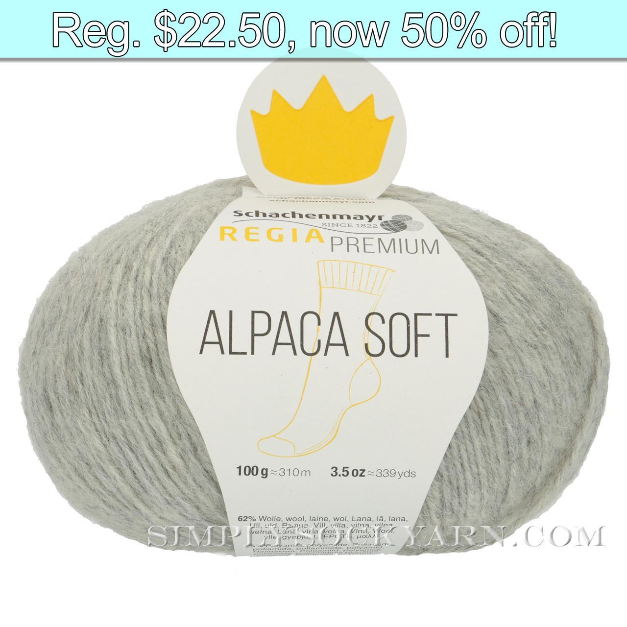 Regia Alpaca Soft 90 Lt Gray -