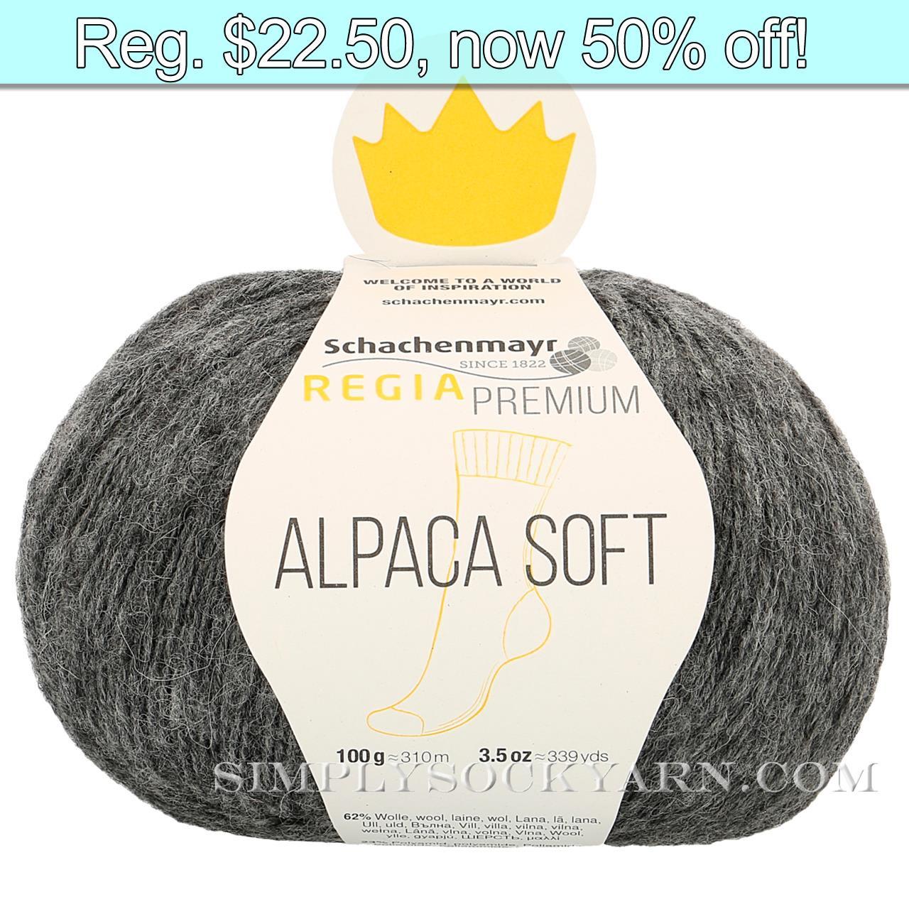 Regia Alpaca Soft 95 Anthracite -
