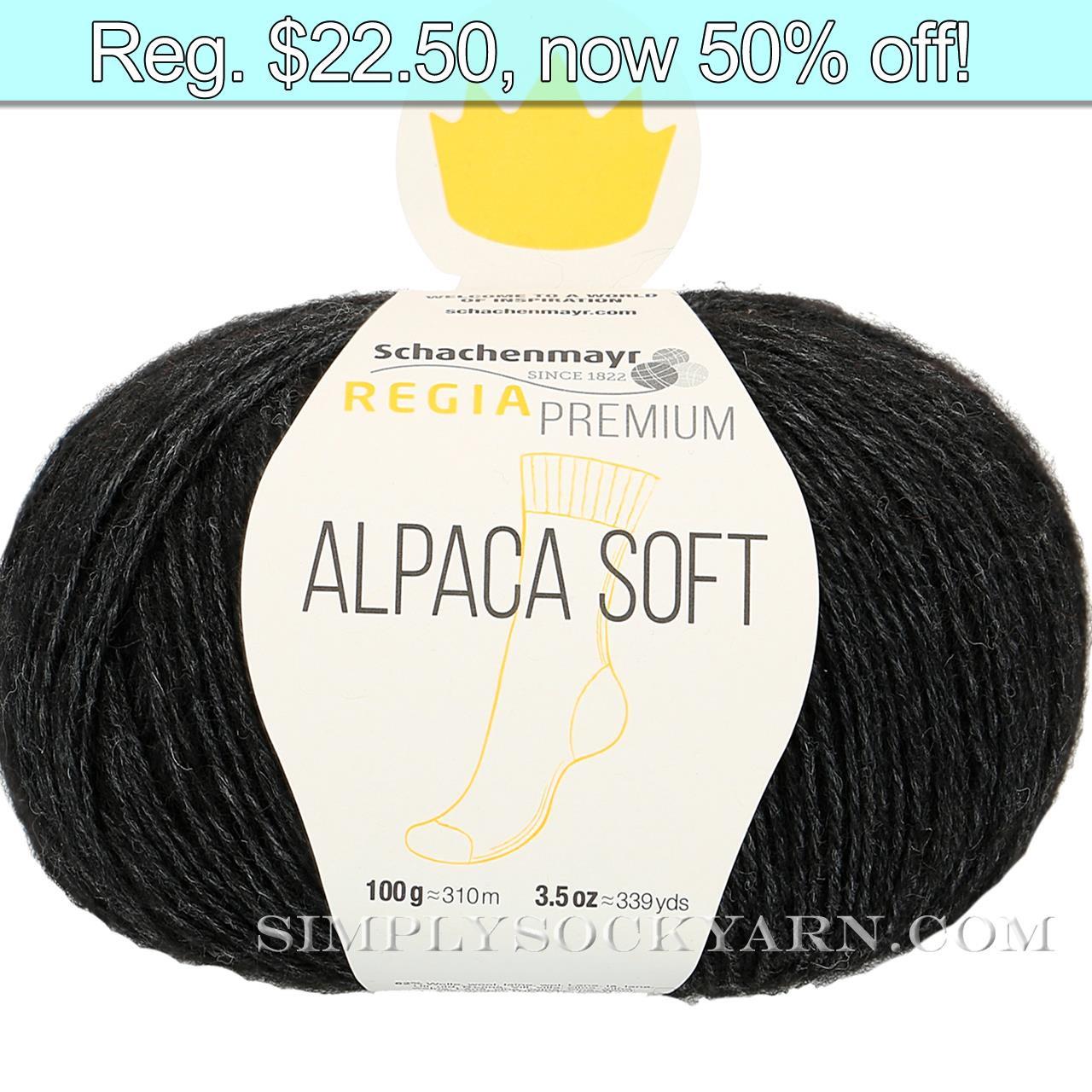 Regia Alpaca Soft 99 Black -