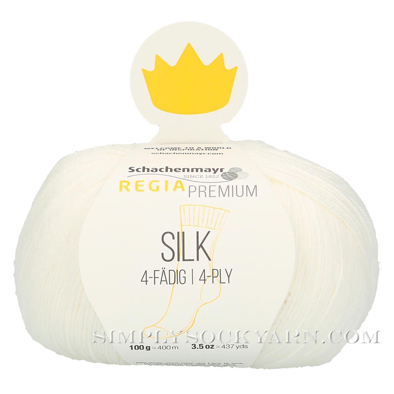 Regia Silk 0001 White -