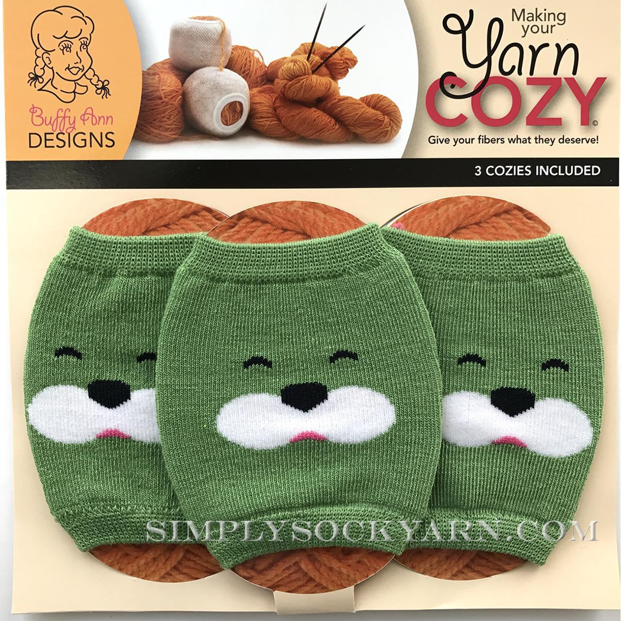 Yarn Cozy Green Bear -
