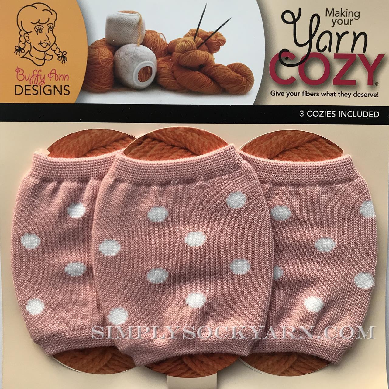 Yarn Cozy Pink Dots -