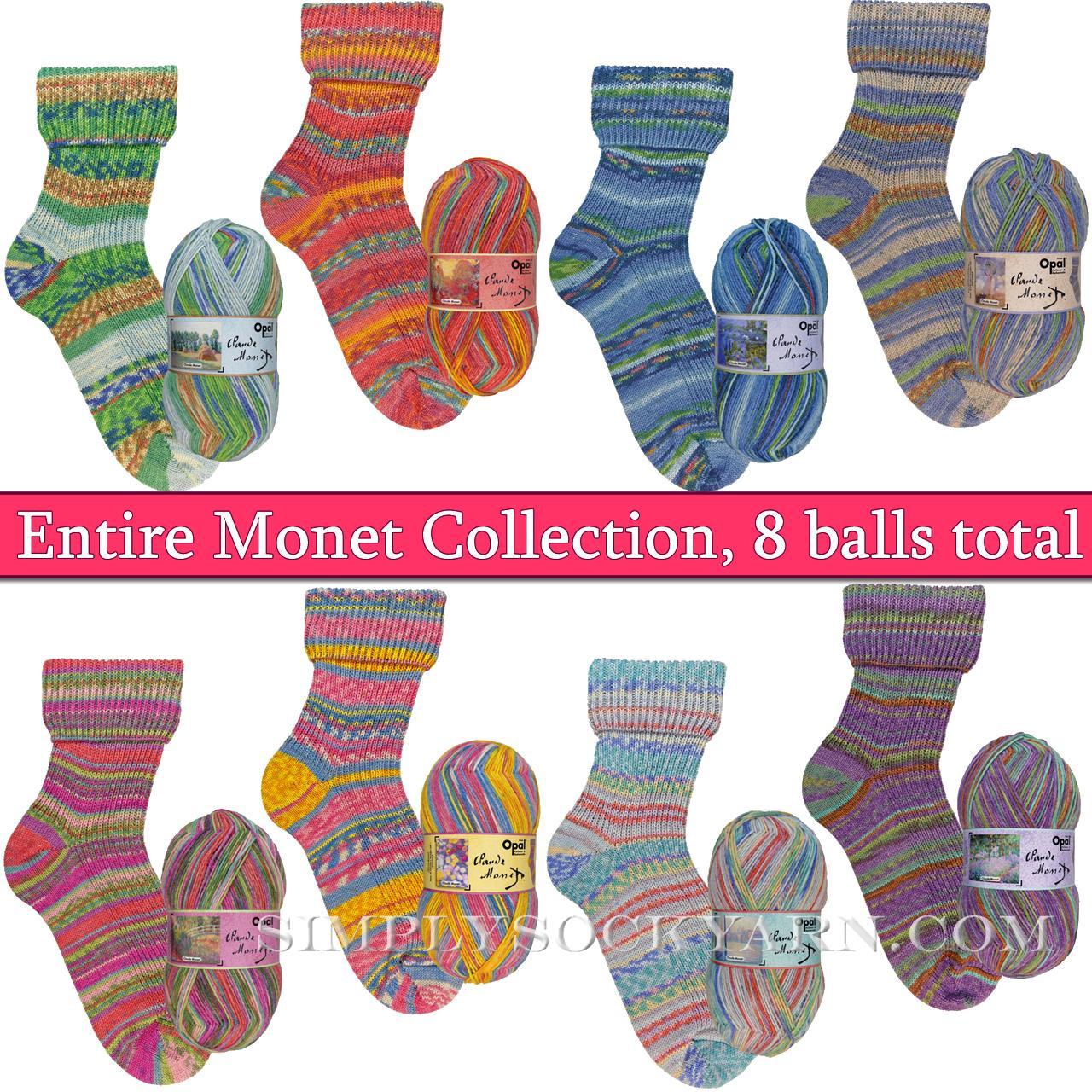 Opal Monet 8 Color Collection -