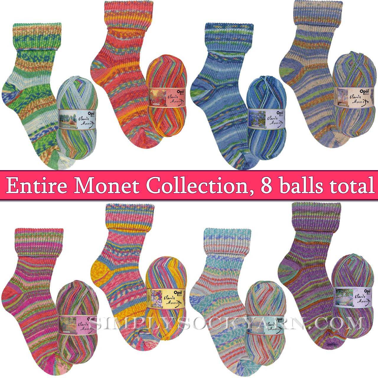 Opal Monet 8 Color Collection -