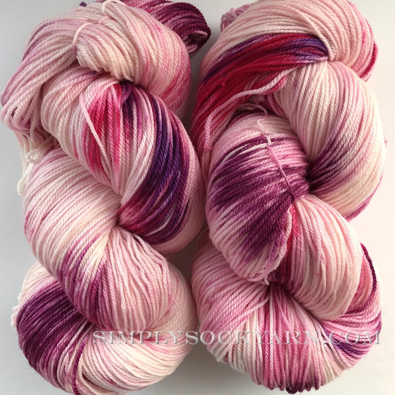 SG TL Sock Raspberry Swirl -