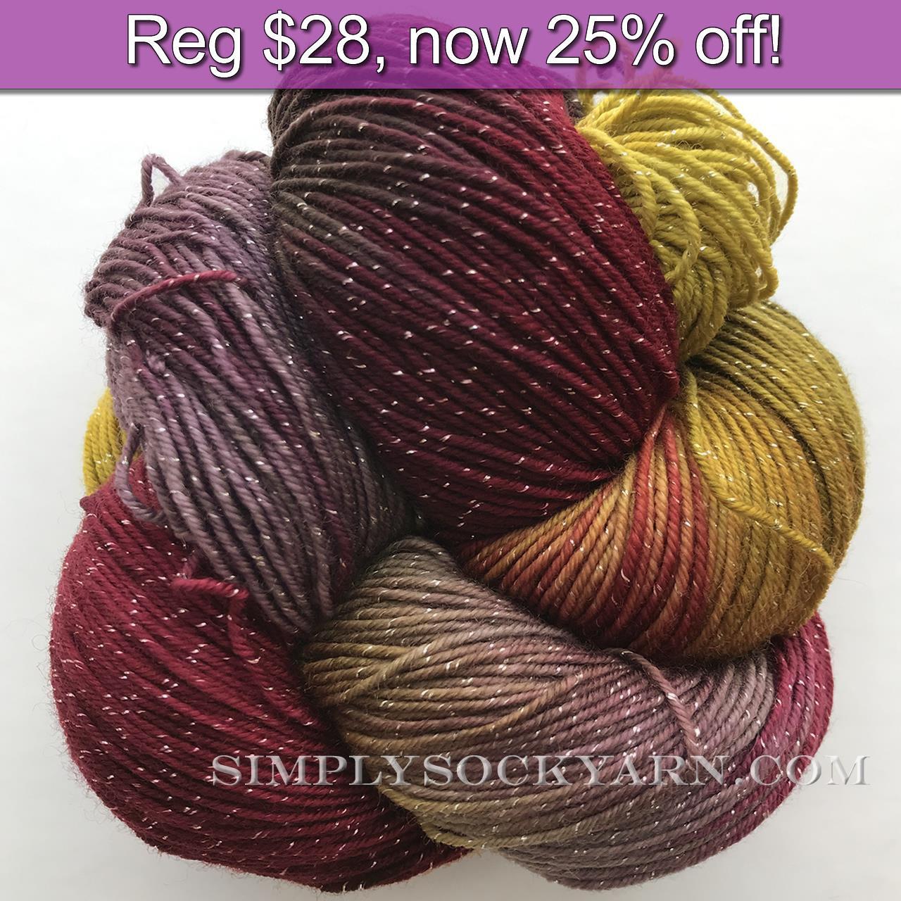 BMFA Sparkle Rawkin Sockin Knit -