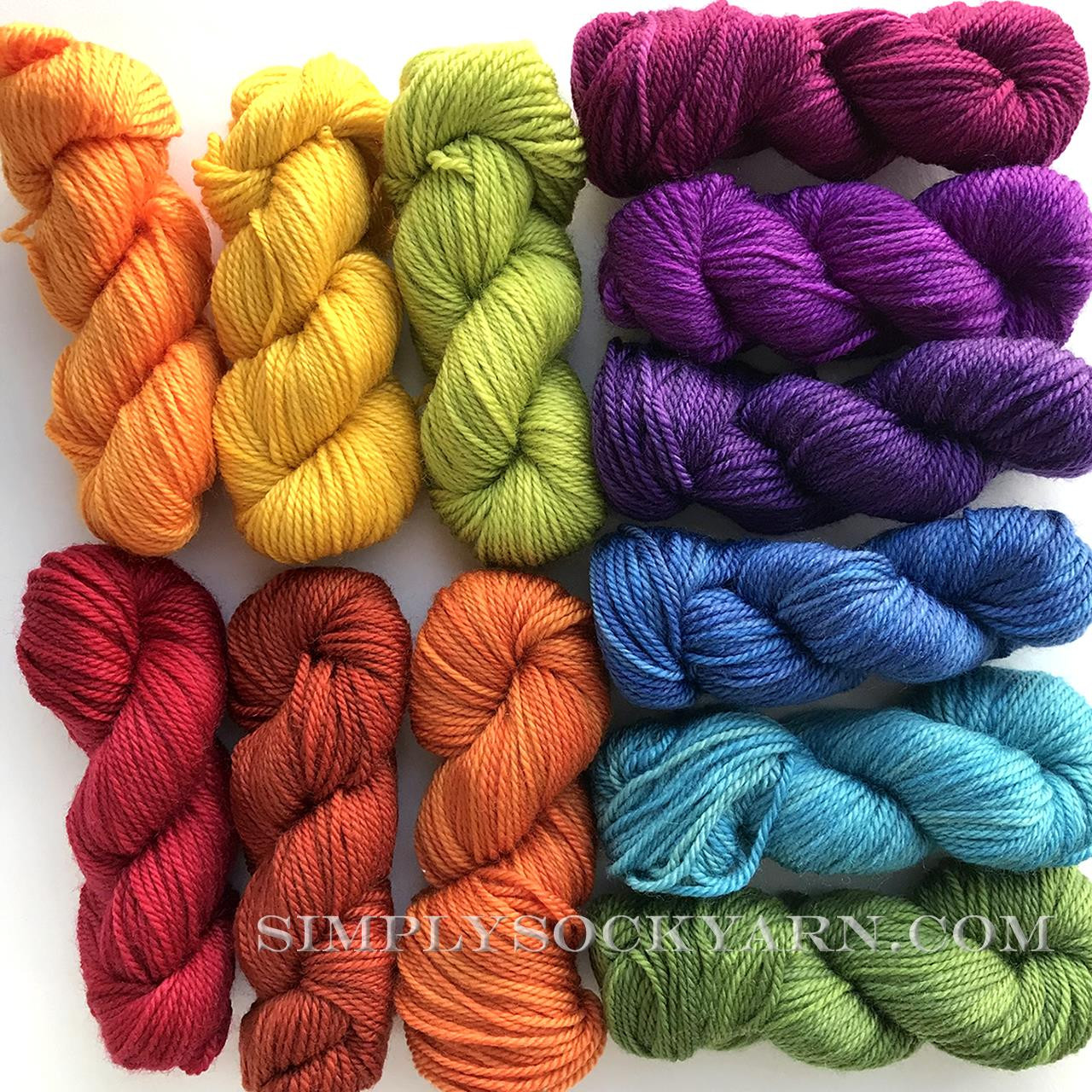 SG Prismatic Mini Skein Set -