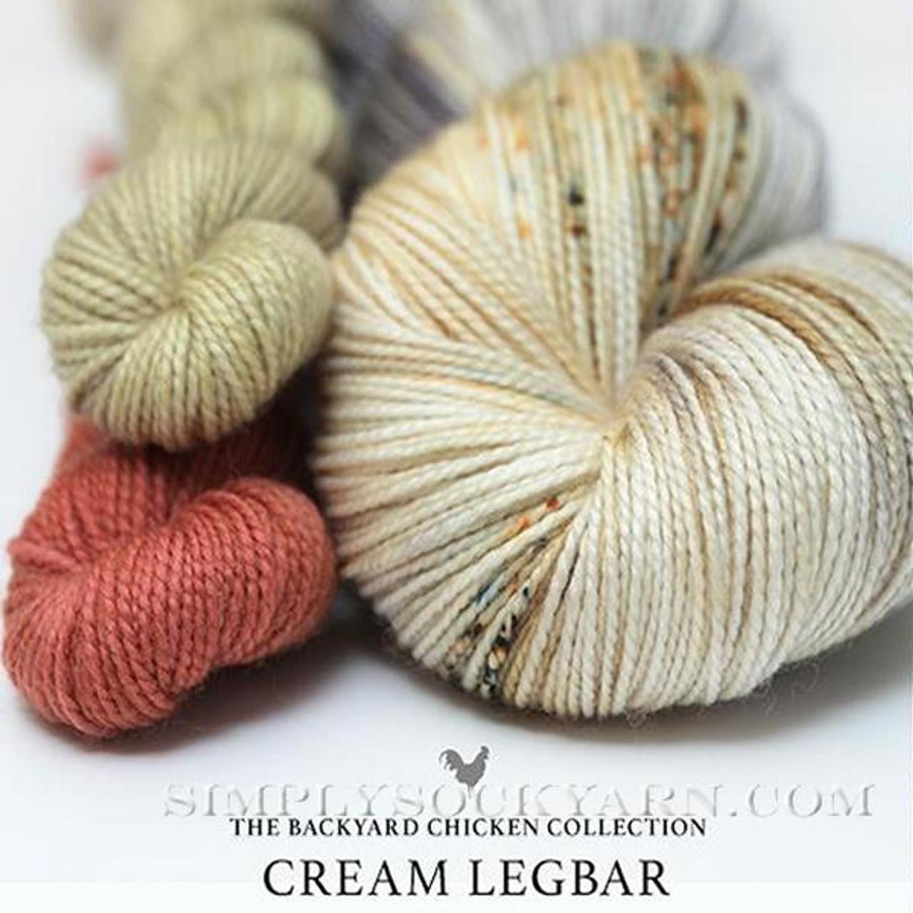 HLoco BYCC Cream Legbar Rooster -