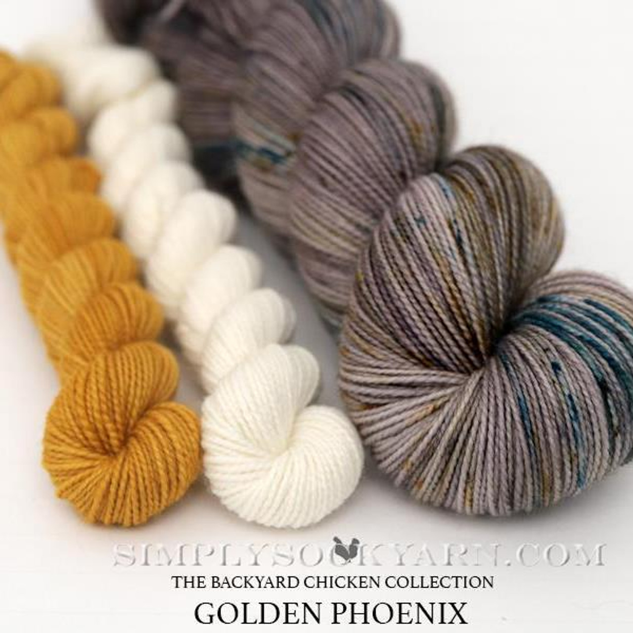 HLoco BYCC Gold Phoenix Rooster -