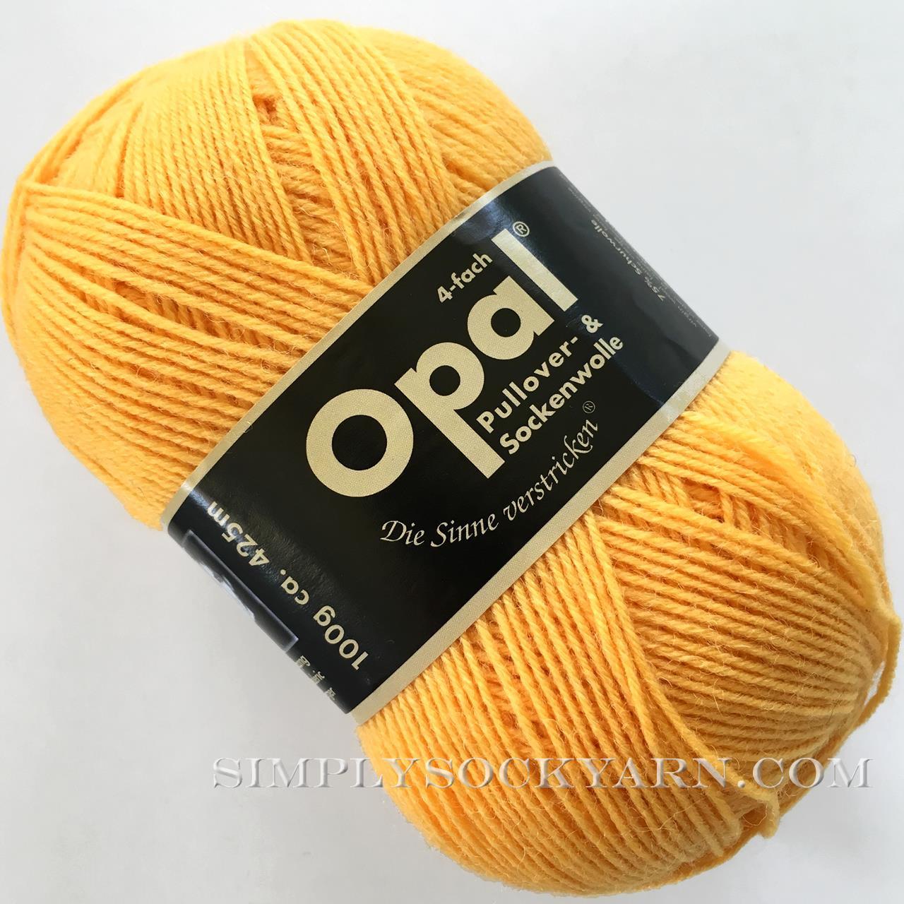 Opal Uni Solid 5182 Yellow -
