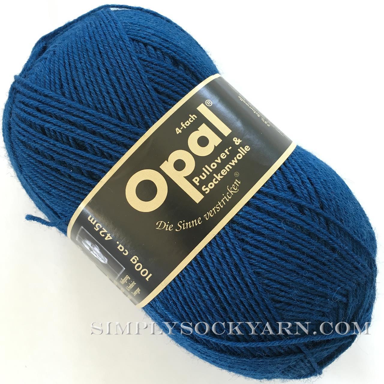 Opal Uni Solid 5187 Petrol -