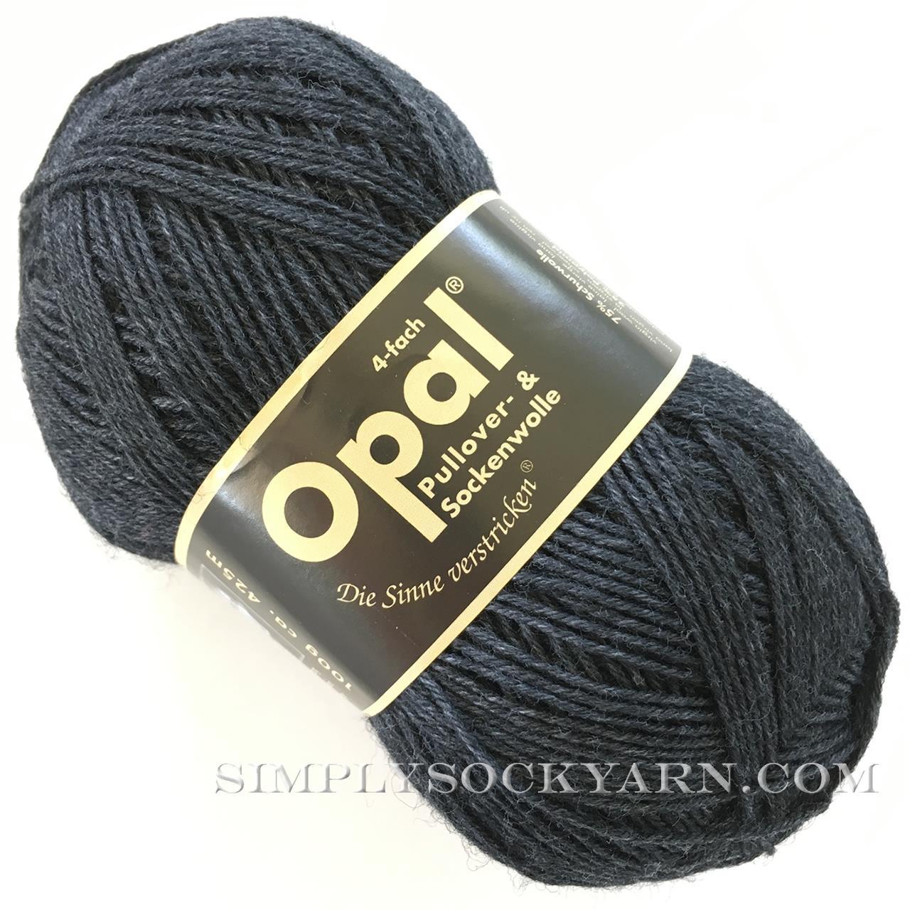 Opal Uni Solid 5191 Dk Gray -