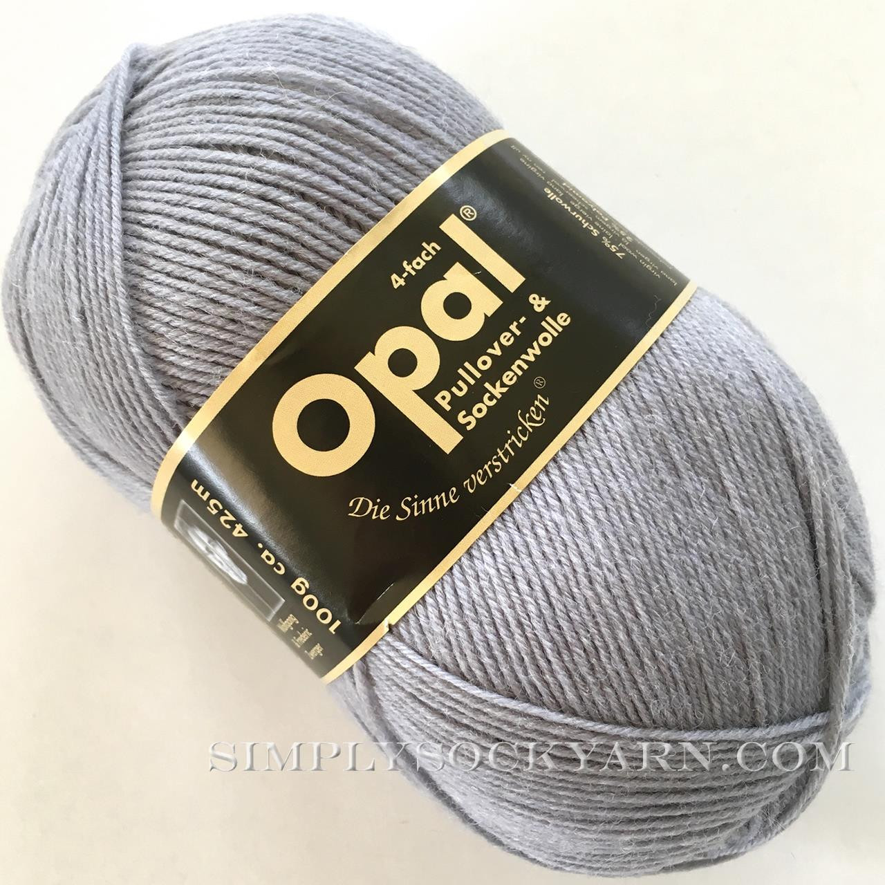 Opal Uni Solid 5193 Med Gray -