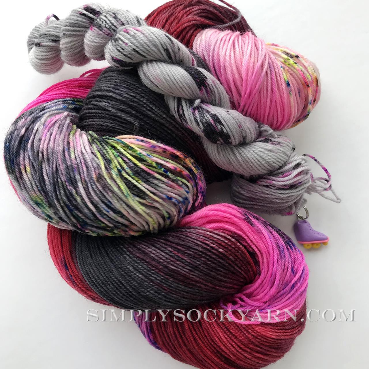 WIP It Sock Set- Scarlet OScara -