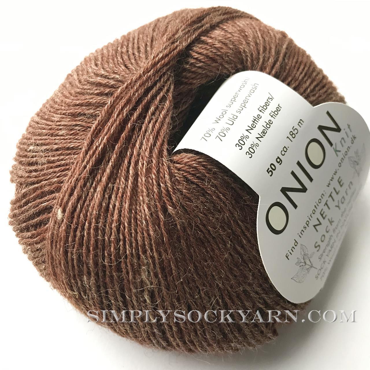 OY Nettle Sock 1033 Golden Brn -