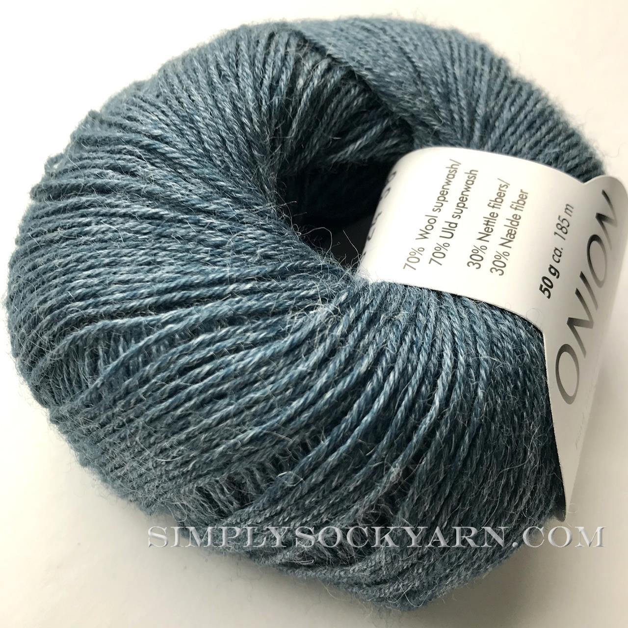 OY Nettle Sock 1024 Dusty Blue -