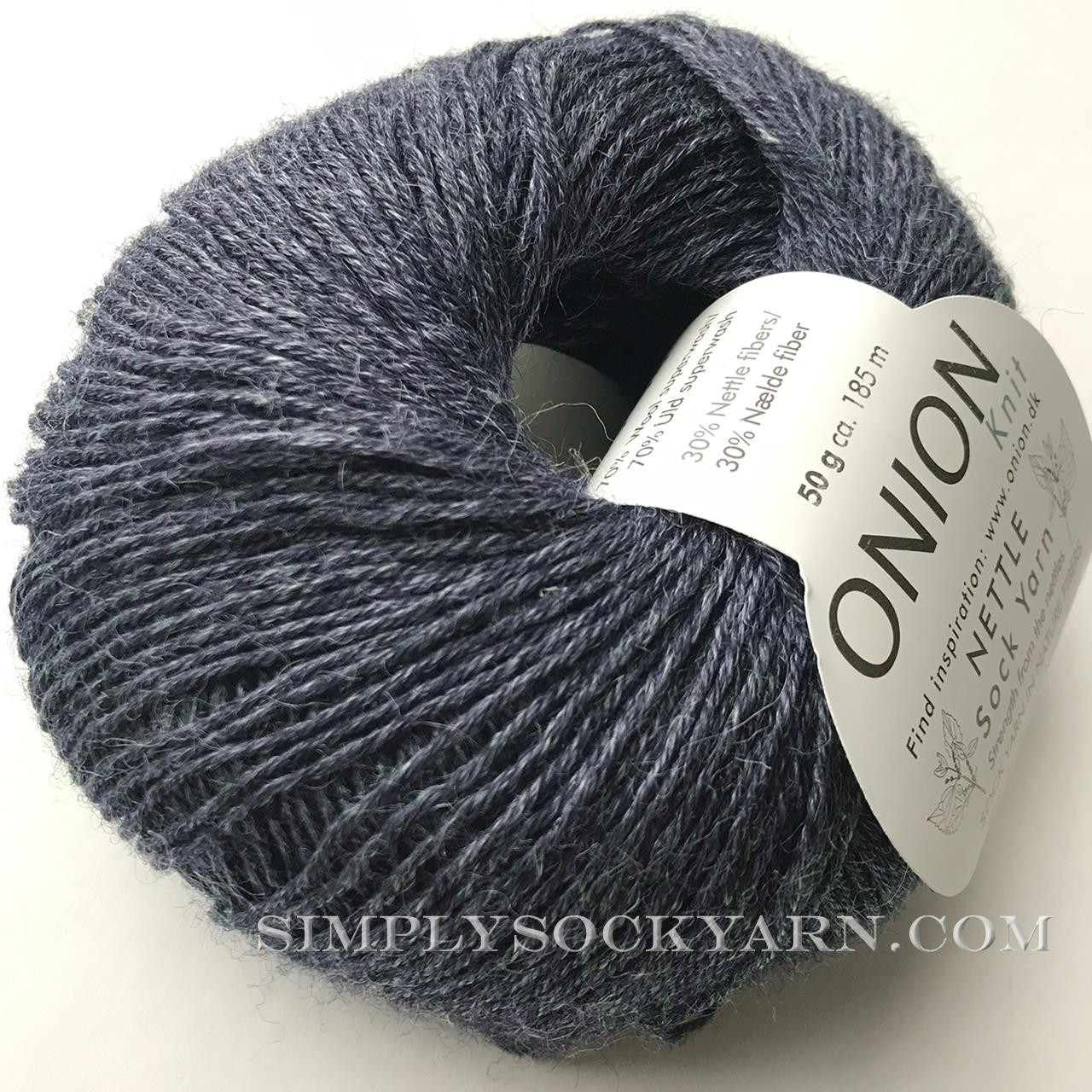 OY Nettle Sock 1005 Blue Jeans -
