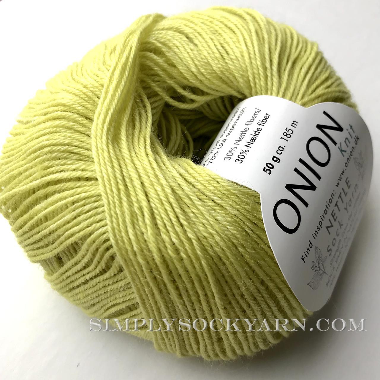 OY Nettle Sock 1019 Citron -