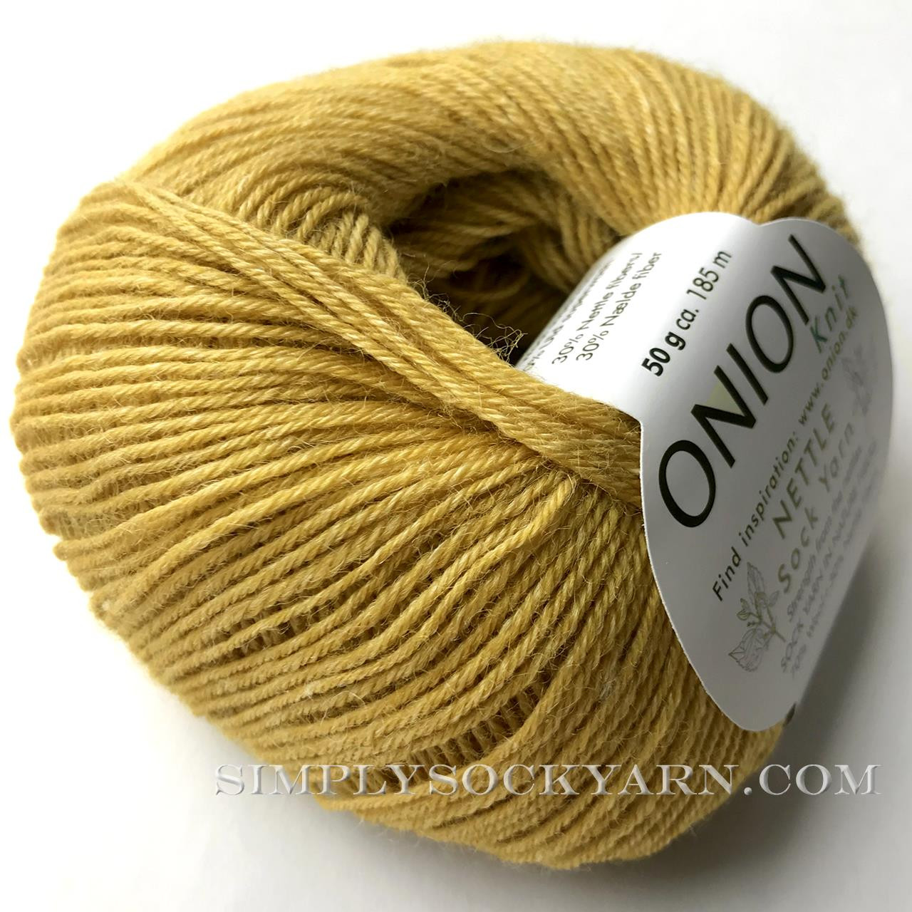OY Nettle Sock 1016 Curry -