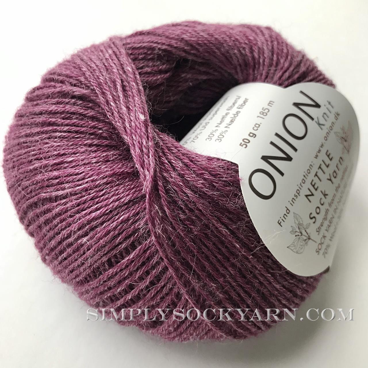 OY Nettle Sock 1026 Purple -
